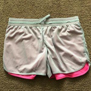 Gray & Pink shorts